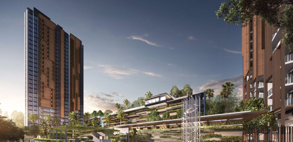 Midwood Condo Near to Hillview MRT by Hong Leong